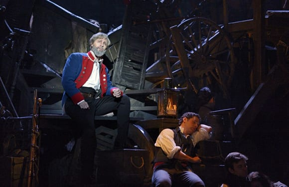 Peter Lockyer as Jean Valjean in the 25th anniversary tour